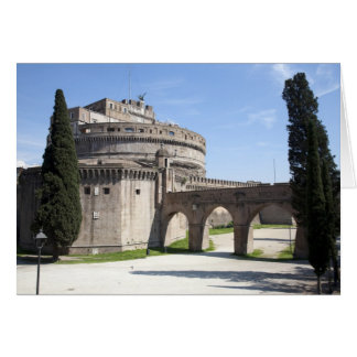 Castel Sant Angelo is situated near the vatican 2 Greeting Card