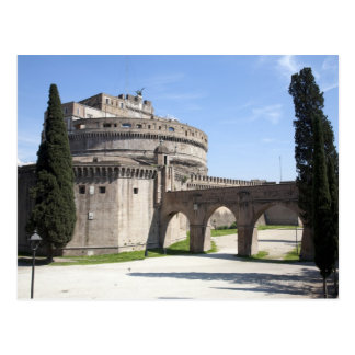 Castel Sant Angelo is situated near the vatican 2 Post Card