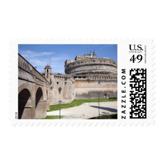 Castel Sant Angelo is situated near the vatican 3 Postage