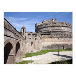 Castel Sant Angelo is situated near the vatican 3 Postcards