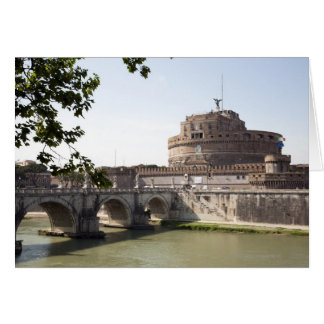 Castel Sant Angelo is situated near the vatican 4 Greeting Card