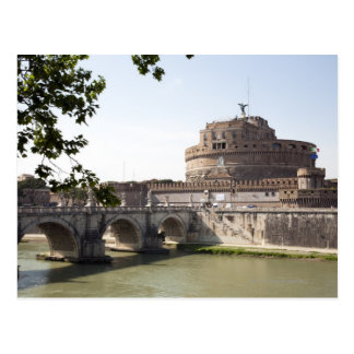 Castel Sant Angelo is situated near the vatican 4 Post Card