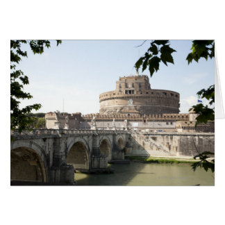 Castel Sant Angelo is situated near the vatican Cards