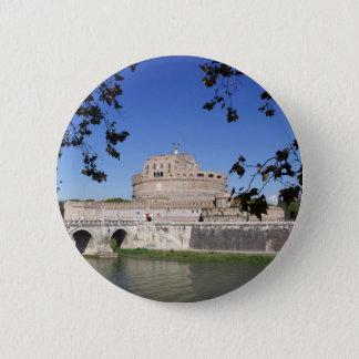 Castel Sant Angelo Pinback Button