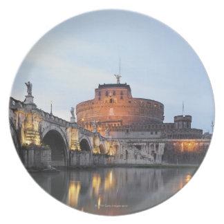 Castel Sant' Angelo Dinner Plate