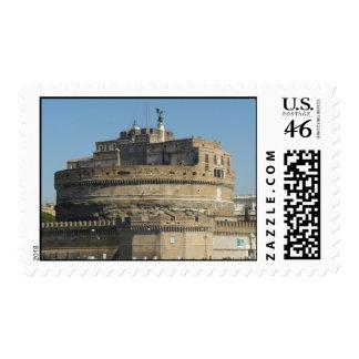 Castel Sant Angelo Stamp