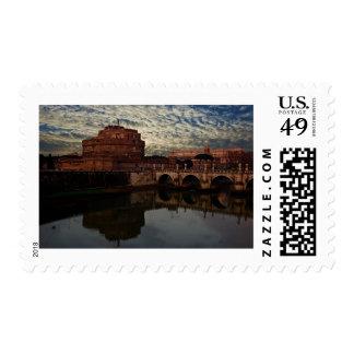 Castel Sant Angelo Postage Stamp