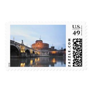 Castel Sant' Angelo Postage Stamp