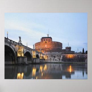 Castel Sant' Angelo Poster