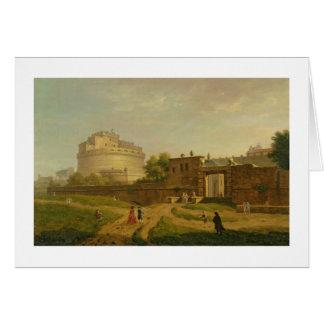 Castel Sant Angelo Rome 1776 oil on canvas Cards
