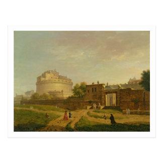 Castel Sant Angelo Rome 1776 oil on canvas Postcards