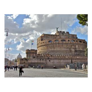 Castel Sant' Angelo - Rome, Italy Postcard