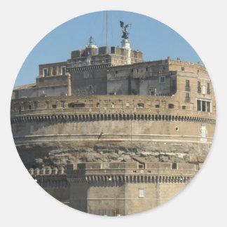 Castel Sant Angelo Round Stickers