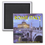 Castel Sant'Angelo and Bridge, Rome, Italy Magnets