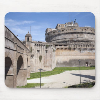 Castel Sant'Angelo is situated near the vatican, 3 Mouse Pad