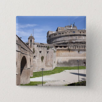 Castel Sant'Angelo is situated near the vatican, 3 Pinback Button