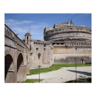 Castel Sant'Angelo is situated near the vatican, 3 Poster