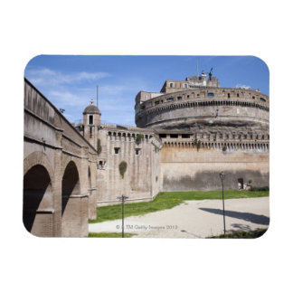 Castel Sant'Angelo is situated near the vatican, 3 Flexible Magnets