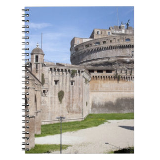 Castel Sant'Angelo is situated near the vatican, 3 Spiral Notebook