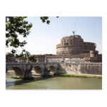 Castel Sant'Angelo is situated near the vatican, 4 Postcard