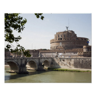 Castel Sant'Angelo is situated near the vatican, 4 Poster