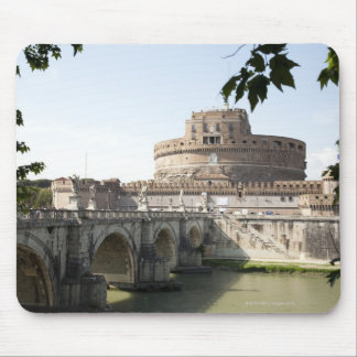Castel Sant'Angelo is situated near the vatican, Mouse Pad