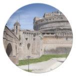 Castel Sant'Angelo se sitúa cerca del vatican, 3 Platos