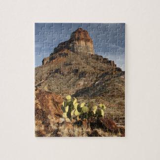 Castellano de Cerro en la puesta del sol Rompecabezas Con Fotos