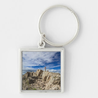 Castellazzo mount - Rolle pass Keychain