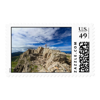 Castellazzo mount - Rolle pass Stamp