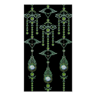CASTELLINA JEWELS: BLUE GREEN DREAM POSTER