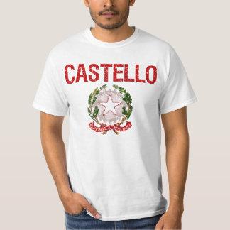 Castello Italian Surname T-Shirt