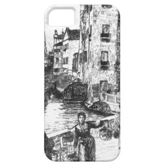 Castello Venecia cuarta Italia 1880 Funda Para iPhone SE/5/5s