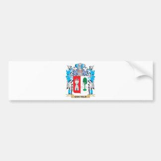 Castelo Coat of Arms - Family Crest Bumper Sticker
