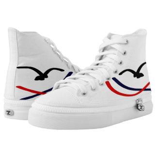Castelo Divo Printed Shoes