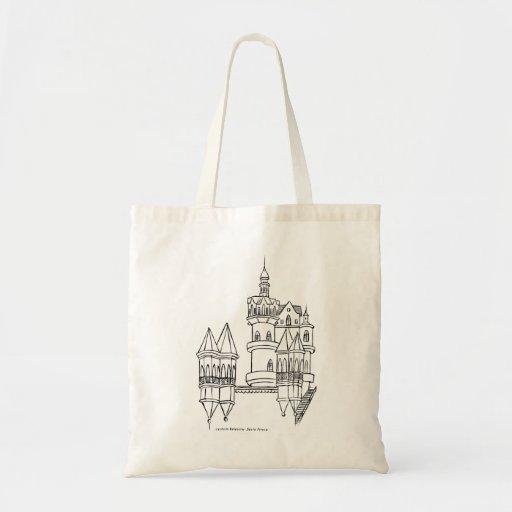 Castelo Valentim Bolsa Tela Barata