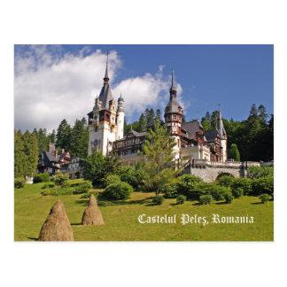 Castelul Peles, Romania Postcard