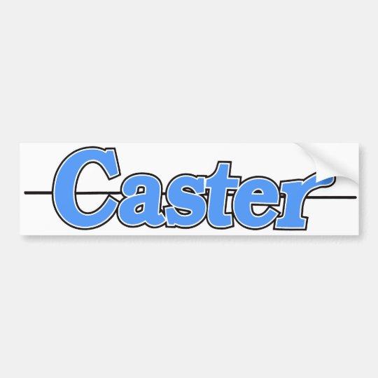 Caster Sticker Blue