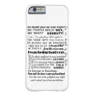 Castiel Quotes iPhone 6 Case