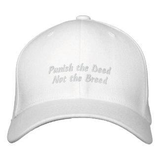 Castigue el hecho, no la raza gorra de béisbol