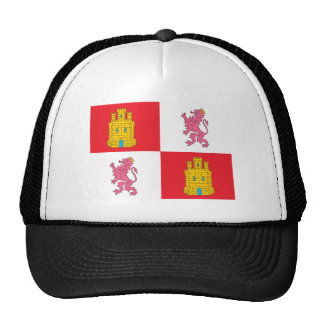Castile And Leon Flag Hat