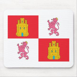 Castile And Leon Flag Mousepad