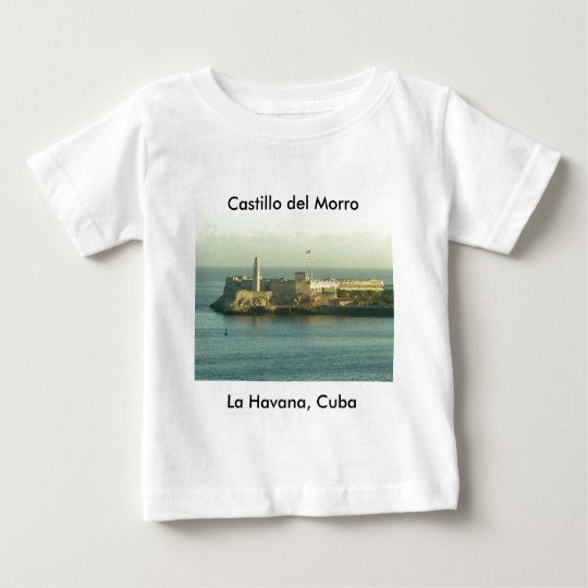 Castill del Morro La Habana Cuba Baby T-Shirt