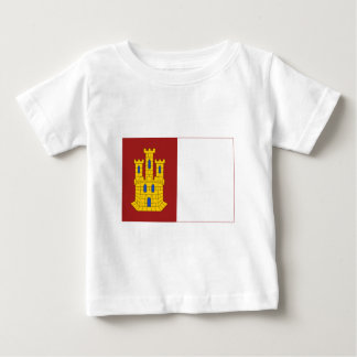 Castilla-La Mancha flag Baby T-Shirt