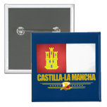 Castilla-La Mancha Flag Button