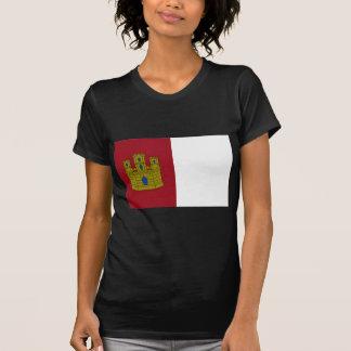 Castilla La Mancha (Spain) Flag T-Shirt