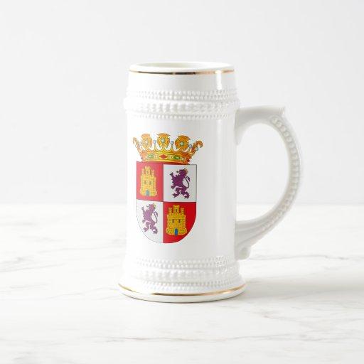 Castilla Y Leon Coat of Arms Mug
