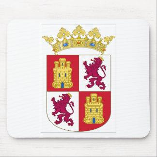 Castilla y Leon (Spain) Coat of Arms Mouse Pad