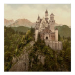 Castillo alemán Neuschwanstein Posters