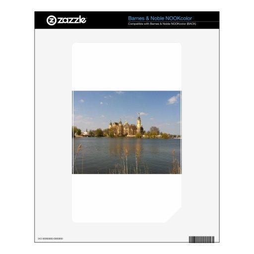 Castillo alemán Schwerin - Schloss - Märchenschlos Skins Para elNOOK Color